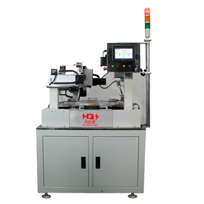 Non-standard custom single head double station soldering machine